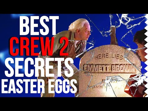 The Best Secrets & Easter Eggs in The Crew 2