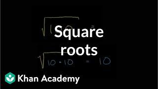 Understanding square roots | Pre-Algebra | Kнan Academy