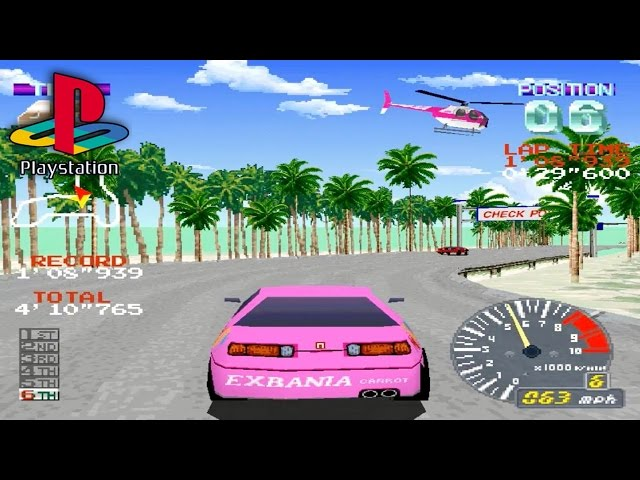 Ridge Racer Revolution (PS1 Gameplay)