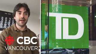 Victim of debit card theft voices anger with TD Bank