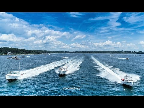 Maine Lobster Boat Races: Harpswell