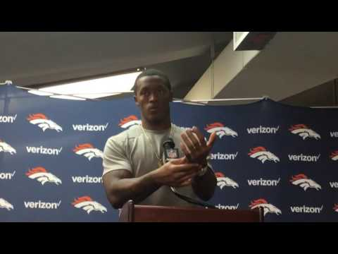 Demaryius Thomas discusses the Broncos win against the Saints