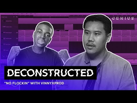 "The Making Of Kodak Black's ""No Flockin"" With VinnyxProd 