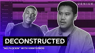 The Making Of Kodak Black's No Flockin With VinnyxProd | Deconstructed