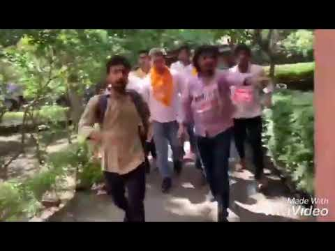 Akshit Dahiya And Tushar Dedha Pre Election Campaign In Delhi University For DUSU