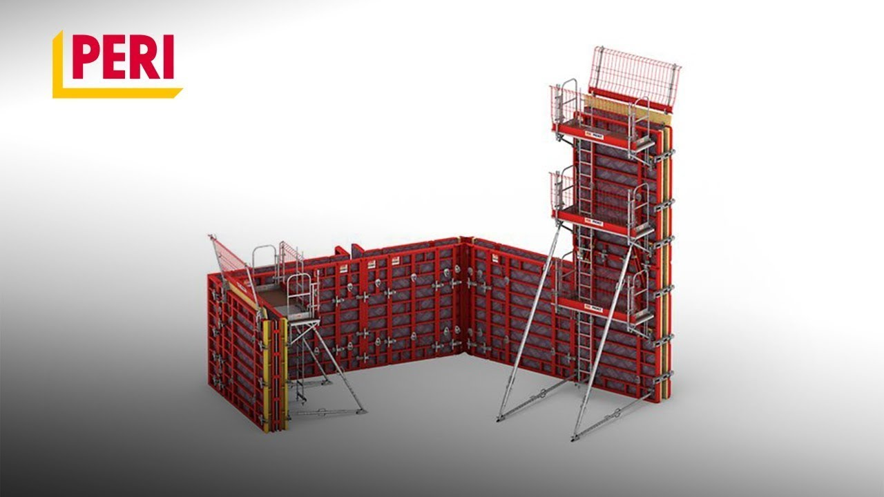PERI MAXIMO Panel Formwork - The particularly cost-effective system