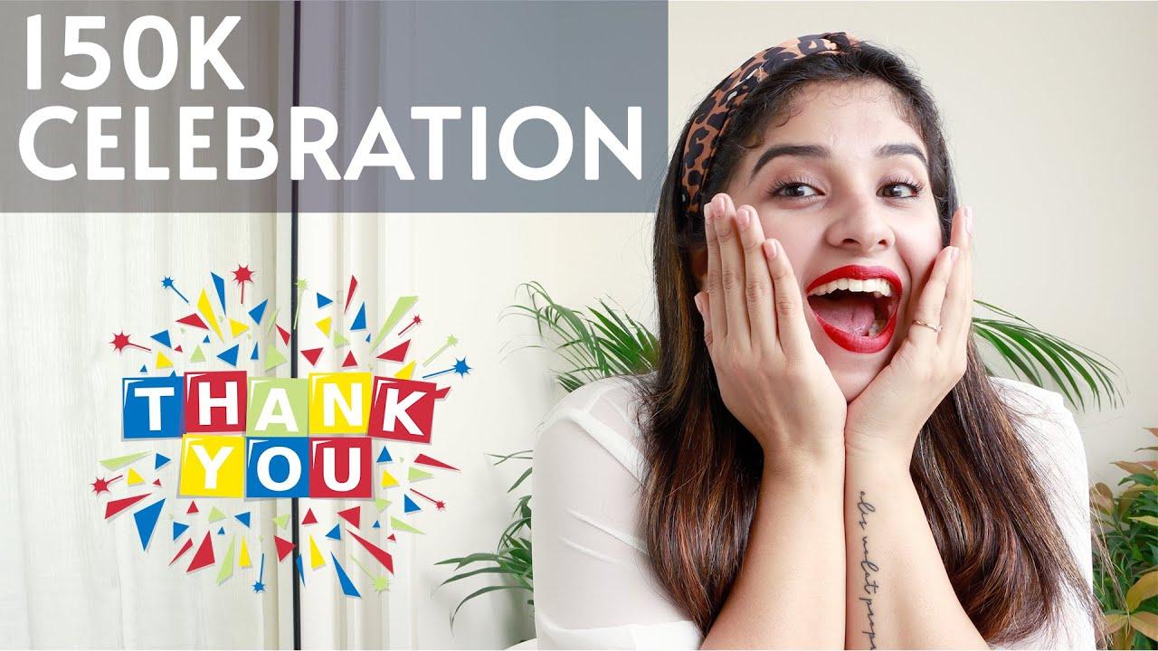 150k Giveaway | My Hair Care - Aparna Thomas