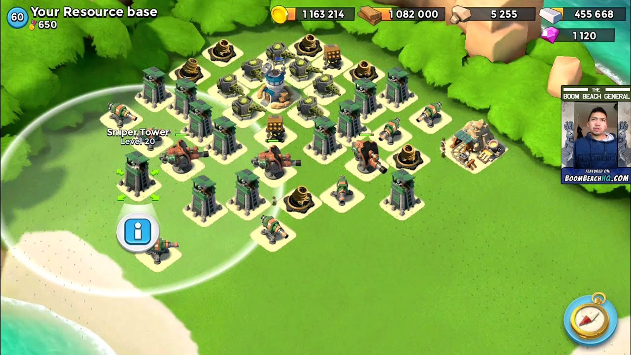 Boom Beach Best Resource Base