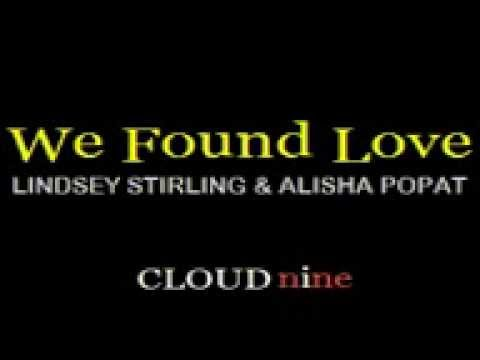 We Found Love by Lindsey Stirling Feat Alisha Popat [Karoge Version with lyrics]