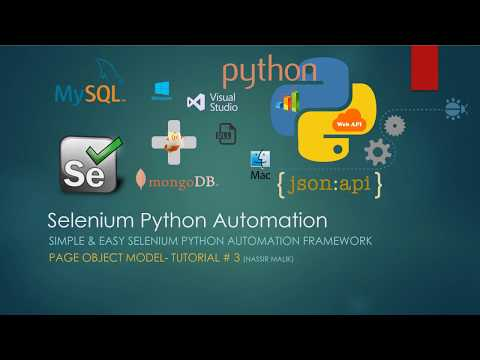 Simple and Easy Selenium Python Automation Framework | Page Object Model | Tutorial # 3