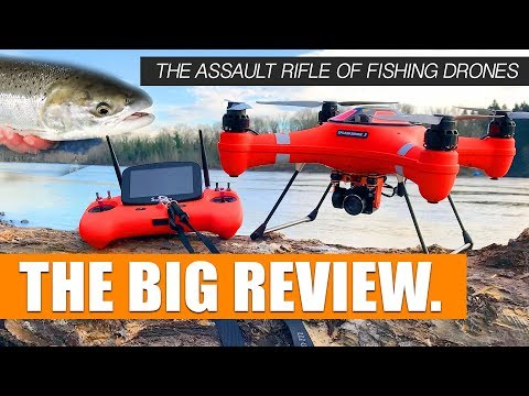 THE ASSAULT RIFLE OF FISHING DRONES – Swellpro Splash Drone 3 – THE BIG REVIEW