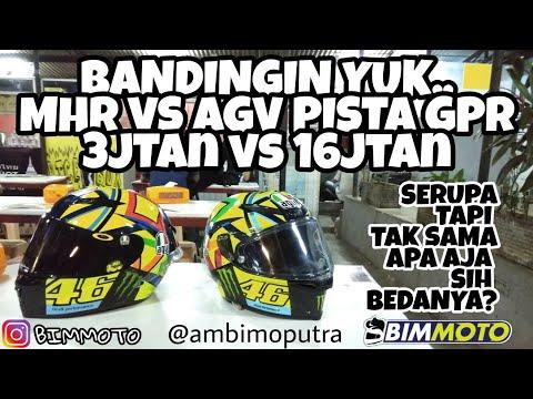 AGV PISTA GPR VS MHR I Bandingin yuk..