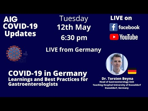 COVID-19 In Germany: Learnings And Best Practices For Gastroenterologists