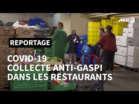 Coronavirus: l'asso anti-gaspi Linkee récupère les stocks des restaurants | AFP News