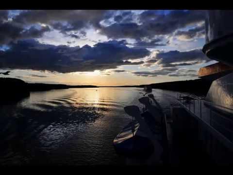 Volga River Sunset
