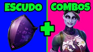 🛡 BEST TRYHARD SKINS COMBOS * GLOOMY SHIELD FORTNITE COMBOS * DARK SHIELD COMBOS | DARK PACKAGE