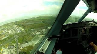 A340 - Auckland - NZAA 23L approach