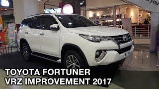 Toyota Fortuner VRZ Improvement 2017 - Exterior and Interior