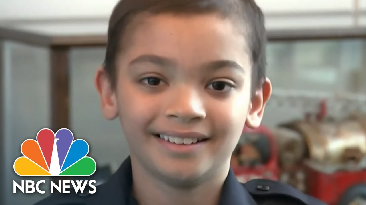 9-Year-Old With Rare Cancer Checks New Item Off His Bucket List | NBC Nightly News