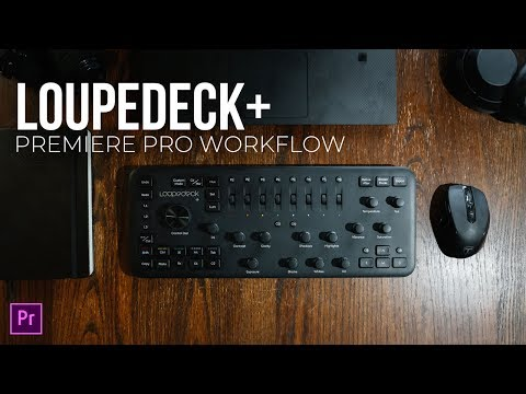 The BEST WAY to EDIT and COLOR GRADE in Premiere Pro | Loupedeck+