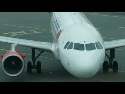 4K - Czech Airlines A319-112 OK-MEK arriving to gate at Prague LKPR