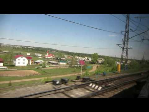 A Train Ride into the Ural Mountains of Russia
