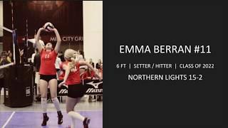 Emma Berran USAV GJNC 2019 Highlights