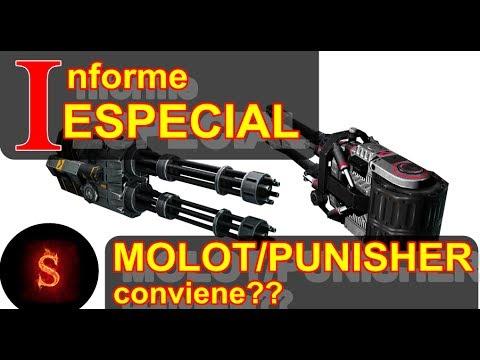 WAR ROBOTS - FIEBRE PUNISHER / MOLOT - CONVIENE? COMO ...