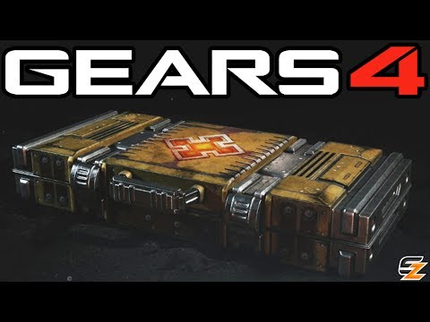 Gears of War 4 Gear Packs - Opening 10 PALACE GUARD PACKS!