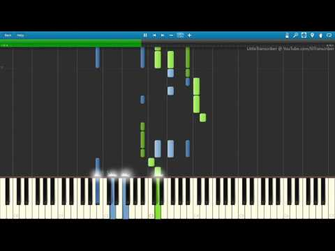 Mike Posner - I Took A Pill In Ibiza (Piano Cover) By LittleTranscriber