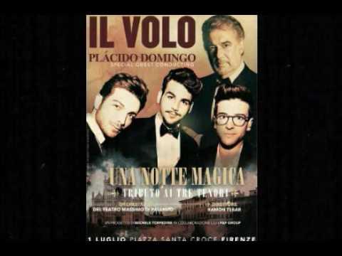 Il Volo e Plácido Domingo em Una Notte Magica  1 de Julho de 2016