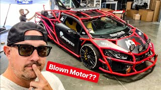 ALEX CHOI DESTROYED HIS TURBO LAMBORGHINI RALLY CAR? *TRUTH EXPOSED*