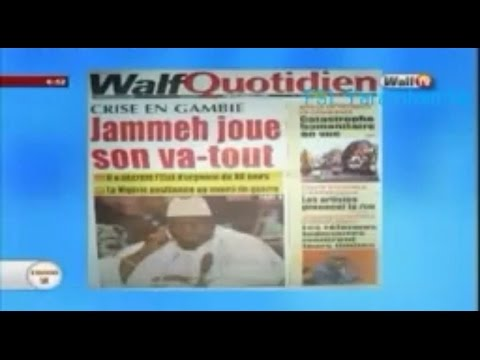 Latest Developments In Gambia On Walf TV