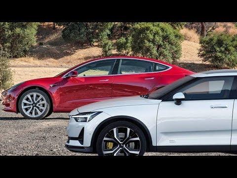 2020 Polestar 2 Vs. 2018 Tesla Model 3