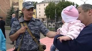 Дмитрий Миронов встретил ярославских полицейских, вернувшихся из командировки в Дагестан