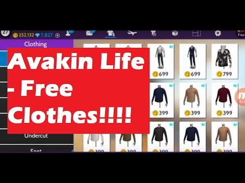 Avakin Life - Get FREE  Clothes!