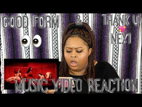thank u, next & Good Form (Music Video Reaction)
