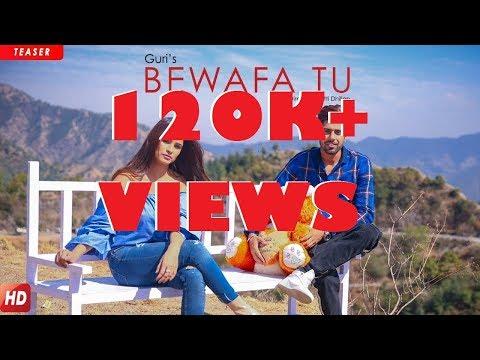 #4-BEWAFA TU - GURI  Full lyrics videos   latest punjabi songs 2018