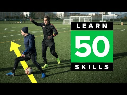 LEARN 50 MATCH SKILLS | Awesome Football Skills Tutorial