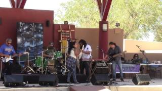 Rebecca Arscott & One Heart Fyah @ New Mexico State Fair Indian Village 2016 Clip 4