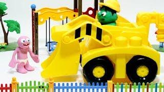 Babygum 💕Superhero Play Doh Stop motion cartoons