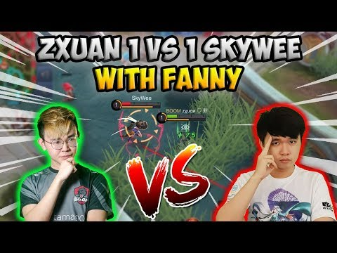 Zxuan VS SkyWee in 1V1 Fanny, who will WIN?