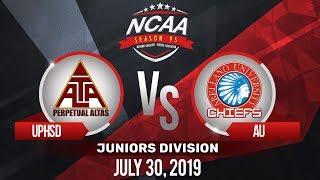 UPHSD vs. AU | NCAA 95 Jrs Basketball | July 30, 2019