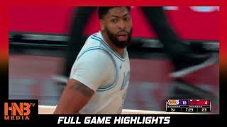 LA Lakers vs Chicago Bulls 1.23.21