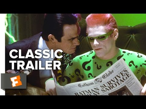 Batman Forever (1995) Official Trailer - Val Kilmer, Jim Carrey, Tommy Lee Jones Superhero Movie HD