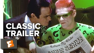 Batman Forever (1995) Official Trailer - Val Kilmer, Jim Carrey, Tommy Lee Jones Superhero Movie HD