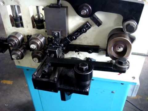129 China ring making machine.MPG