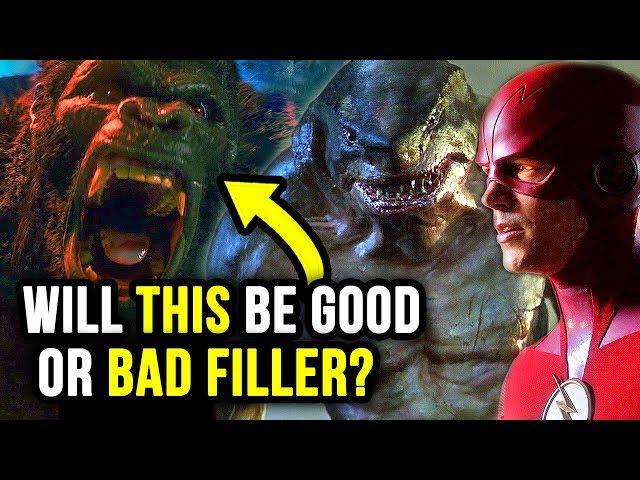 Why is King Shark vs Gorilla Grodd?! - The Flash 5x15 Trailer Breakdown