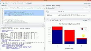 كيفية إنشاء مجموعة البيانات إجراء التحليل باستخدام R
