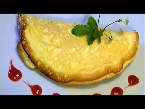 Topfenschaum Omelette